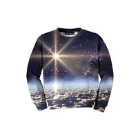 Space Clouds Kid's Sweatshirt
