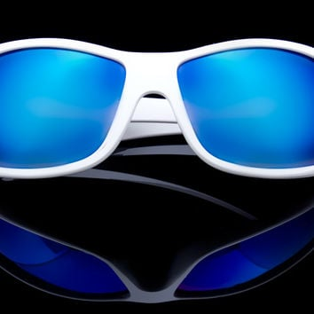 "HD Blue Blocking Driving/Sports Sunglasses ""SurfCity"""