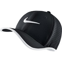 Men's Nike Vapor Classic 99 Training Hat Black/White Size One Size