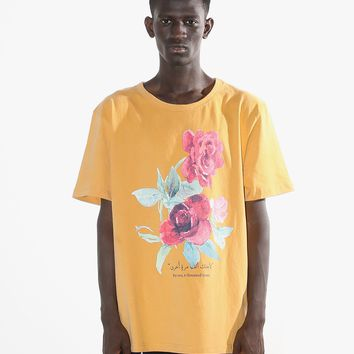 A Thousand Times Flower Print Tee