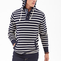Nautical Striped Hoodie