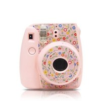 Garden Fuji Instax Mini Camera Sticker for Fujifilm Instax mini 8 - Pink