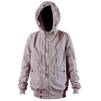 DRKSHDW by Rick Owens Hooded Bomber Jacket (Pearl) – RSVP Gallery