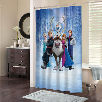 Best Frozen Shower Curtain Products On Wanelo