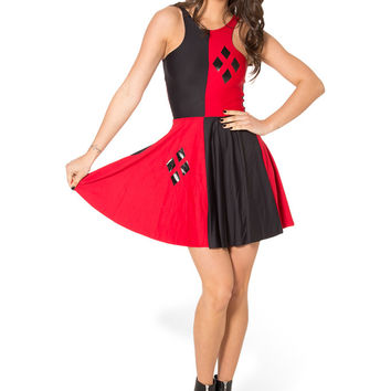Harley Quinn Reversible Skater Dress