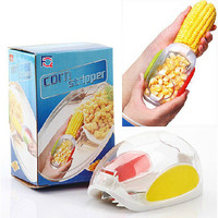 Easy Tools On Sale Hot Deal Kitchen Helper Hot Sale Creative Kitchen Corn Peeler [6034340033]