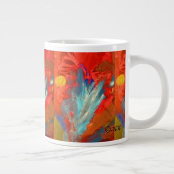 Moonsnbutterflycocoons Large Coffee Mug