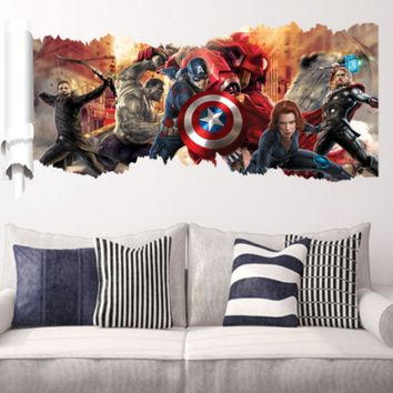 Marvel Avengers Wall Decal