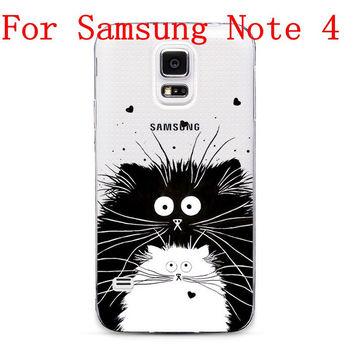 Soft Silicon Transparent TPU Thin Phone Case For Samsung Galaxy s4 s5 s6 s6edge s6edge+ note 4 note 5
