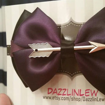 Marvel Avengers Hawkeye Hair Bow