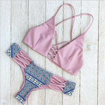 Comfortable High Quality Sexy Summer Ladies Bandages Swimwear [10016855629]