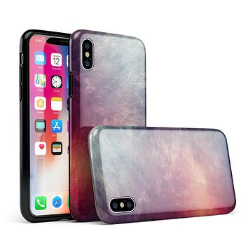 Abstract Fire & Ice V19 - iPhone X Swappable Hybrid Case