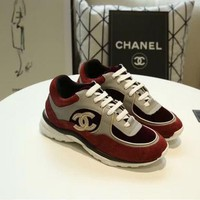 New Fashion Double C Low Top Sneaker Reference #1226 - Beauty Ticks