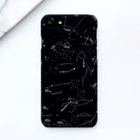 Star Map Graphic Phone Case For iPhone 5 5s 5c 6 6s 7 Plus