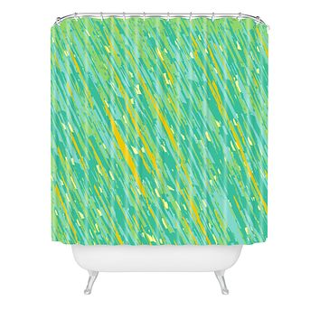 Rosie Brown April Showers Shower Curtain