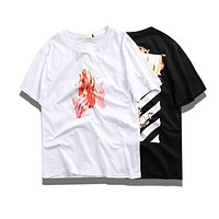 OFF-White Men T-shirt 508 Fire
