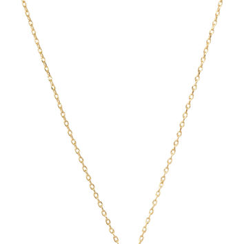 Be Yourself Initial Necklace - L
