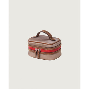 Consuela Bordeaux Small Train Case