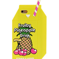iPhone 6 Pineapple Juice Silicone Case