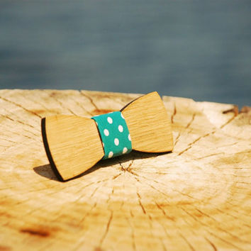 Wooden bow ties Jules Verne. Handmade exclusive accessory.