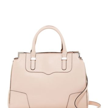 Rebecca Minkoff | Amourous Leather Satchel | Nordstrom Rack