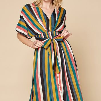 At The Market Midi Dress
