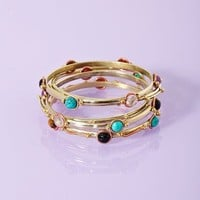 Stacked Stone Bangles  in  What's New at Nasty Gal