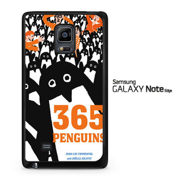 365 penguins book Y1988 Samsung Galaxy Note Edge Case