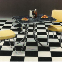 The Honeymooner's Drop Leaf Dinette Set 50's Retro