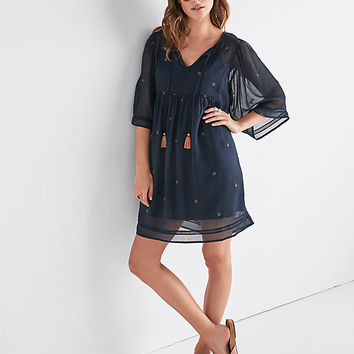 Peasant Tassle Dress | Lucky Brand