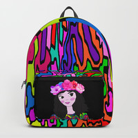 Spring in the Heart of Winter | Kids Painting Backpacks by Azima