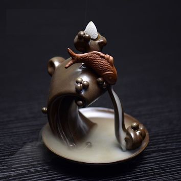 Smoke Backflow Incense Burner