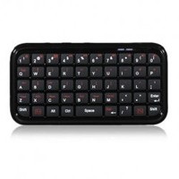 Mini Bluetooth Keyboard for iPad, iPhone 5/4, PS3, Smart Phone, PC, Mac and More, Bluetooth Wireless QWERTY Keyboard for Android, Windows, Symbian and IPhone