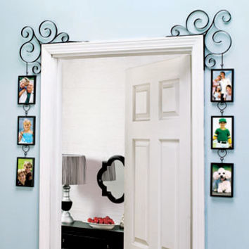 Set of 2 Doorway Corner Photo Frames