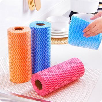 Multipurpose Non-woven Fabric Nonstick Wiping Rags House Cleaning Cloth