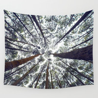 Light Through the Trees Wall Tapestry by StayWild