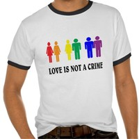Love is love, not a crime. LGBT