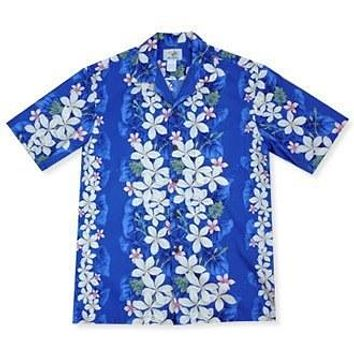 romance hawaiian cotton shirt