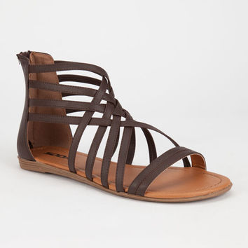 Soda Samina Womens Sandals Brown  In Sizes