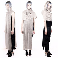 Chasuble Dress Scarf – Fawn