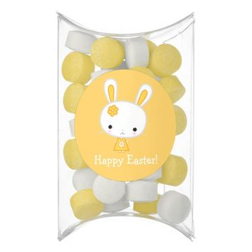 Easter Chewing Gum Pillow Box Favors Bunny Chewing Gum Favors