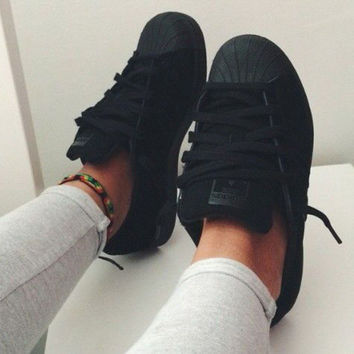 "simpleclothesv : ""Adidas"" Fashion Women Men Running Sport Flats Shoes Sneakers"