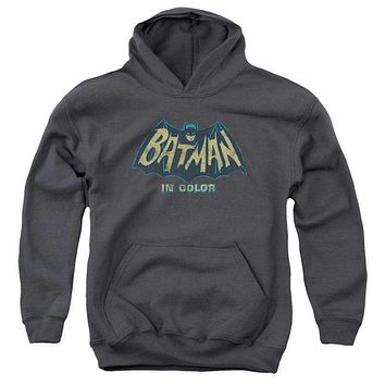 Batman Classic TV In Color Youth Pullover Hoodie
