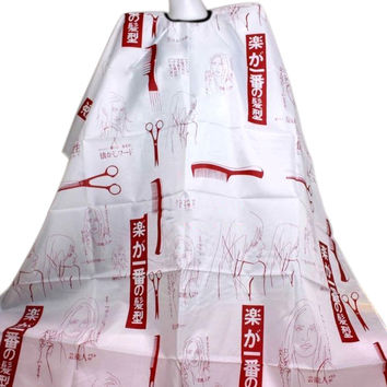 Hair Cutting Salon Hairstylist Nylon Gown Cape Cloth