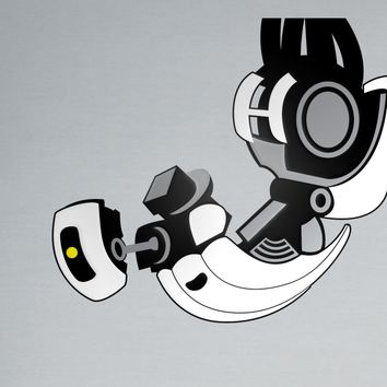 GLaDOS Vinyl Decal - Layered Portal Decal by LicketyCut