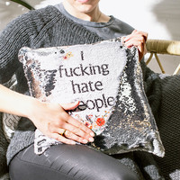 Personalised Hidden Message Cushion | FIREBOX