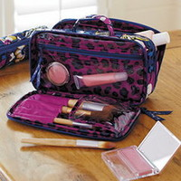 Blush and Brush Makeup Case