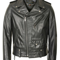 Natural Pebble Cowhide Motorcycle Jacket 525