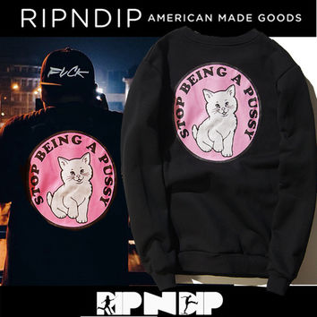 Winter Pink Print Cotton Hoodies [9070629955]