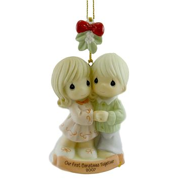 Precious Moments Our First Christmas Together Resin Ornament